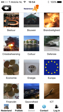 Nederland 2.0 menu beleid
