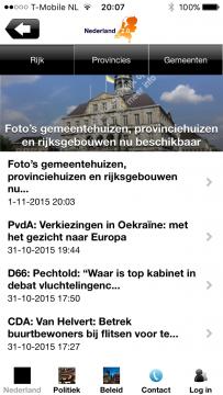 Nederland 2.0 voorpagina